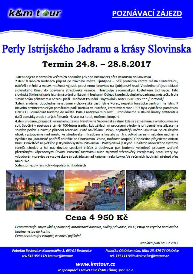Perly Istrijského Jadranu a Slovinska